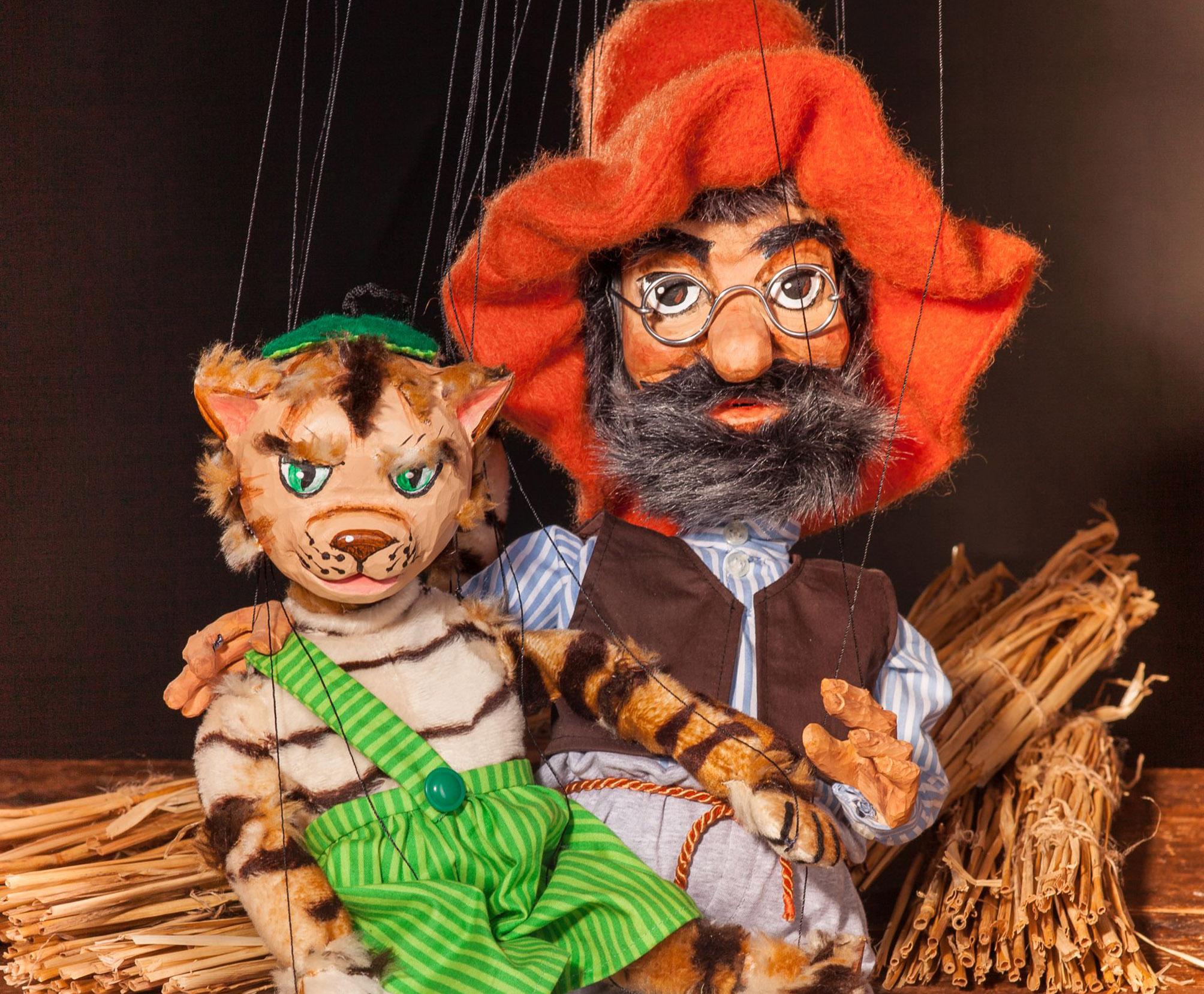 """Koblenzer Puppenspiele """"Findus und der Hahn im Korb"""""""