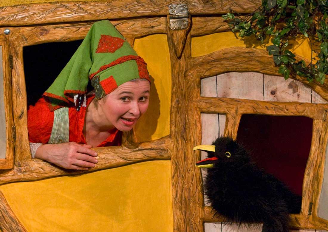 L'una-Theater: Die kleine Hexe
